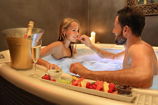 Svatební wellness