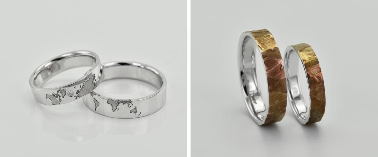 3 tipy na netradiční zásnubní a snubní prsteny