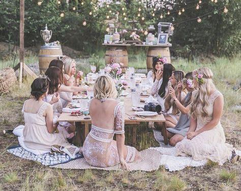 Svatba holcici rozlucka se svobodou piknik v prirode