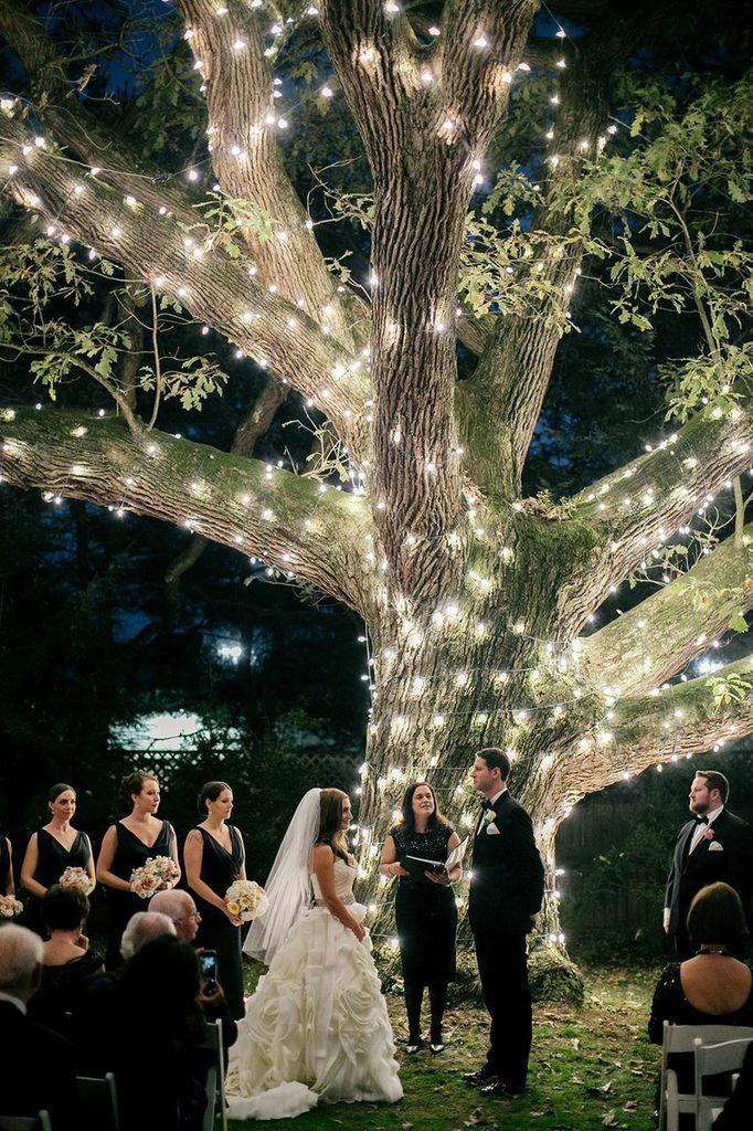 večerní svatba