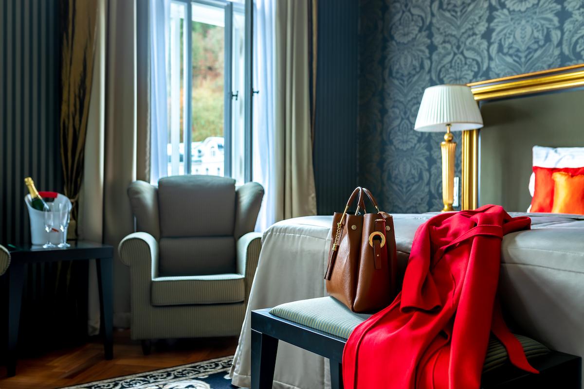 Místo na svatbu v hotelu Granhotell Pupp - pokoj