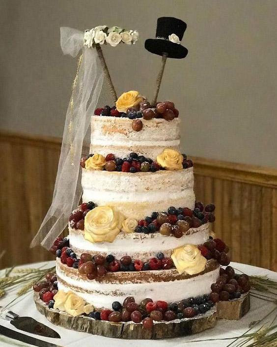 svatba svatebni dort závoj klobouk