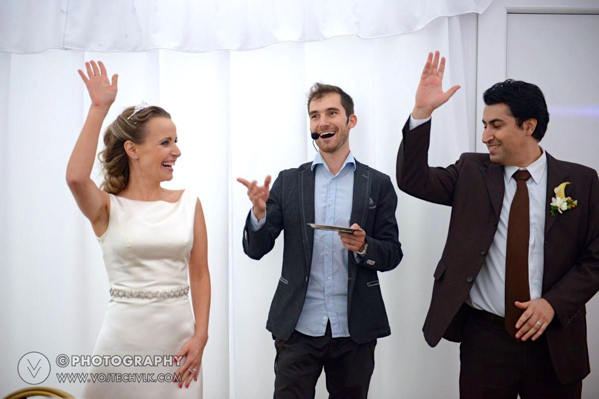 Zábava na svatbu kouzelník